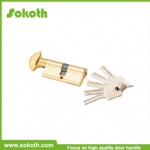 euro profile security zinc alloy lock cylinder